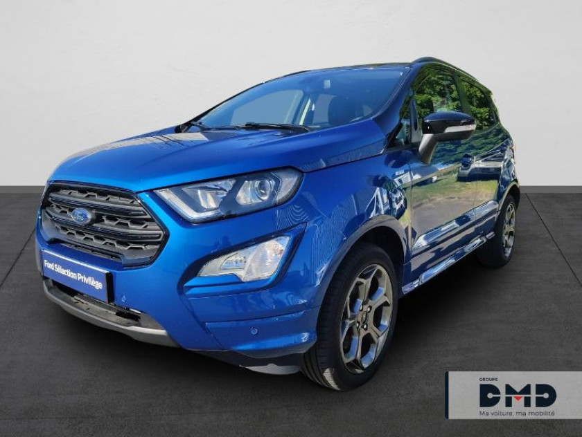 Ford Ecosport 1.0 Ecoboost 100ch St-line Euro6.2 - Visuel #1