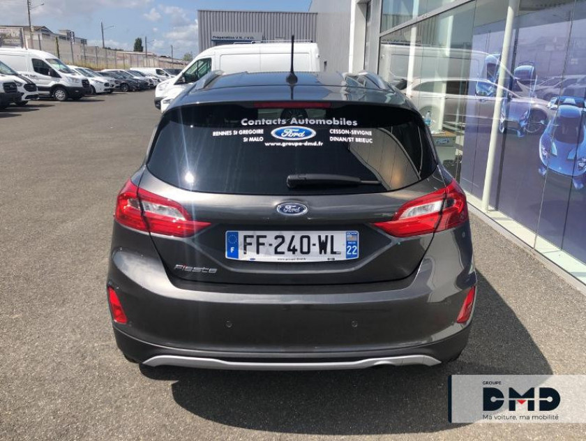 Ford Fiesta Active 1.0 Ecoboost 100ch S&s Pack Euro6.2 - Visuel #11