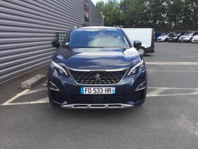 Peugeot 5008 1.2 Puretech 130ch E6.c Gt Line S&s - Visuel #4