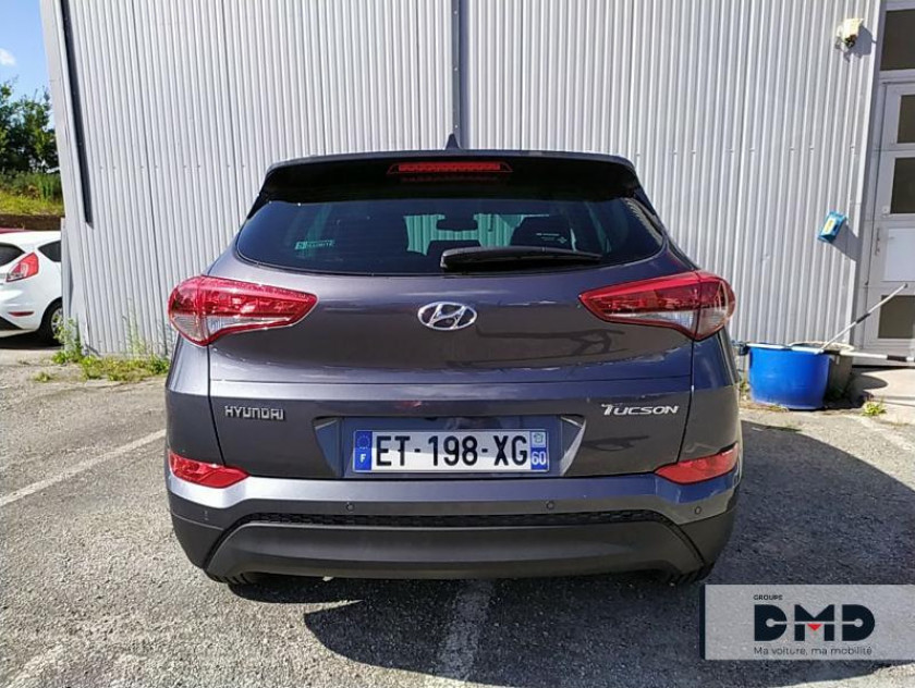 Hyundai Tucson 1.6 Crdi 115 Creative 5p - Visuel #11