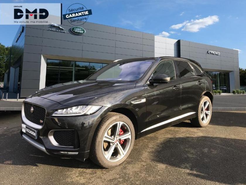 Jaguar F-pace V6 3.0d 300ch S 4x4 Bva8 - Visuel #1