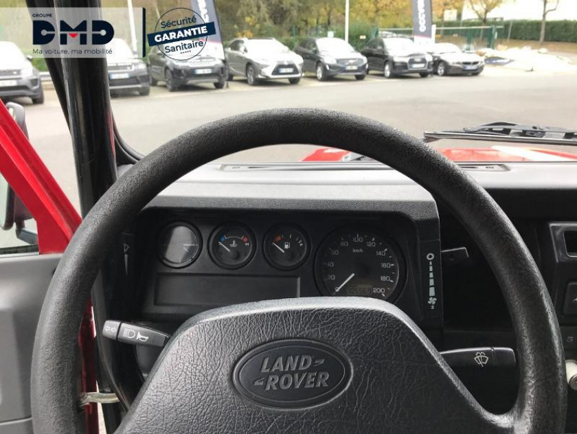 Land Rover Defender St 90 2.5 Td E - Visuel #7