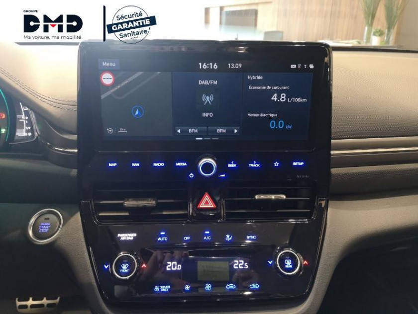 Hyundai Ioniq Hybrid 141ch Executive - Visuel #6