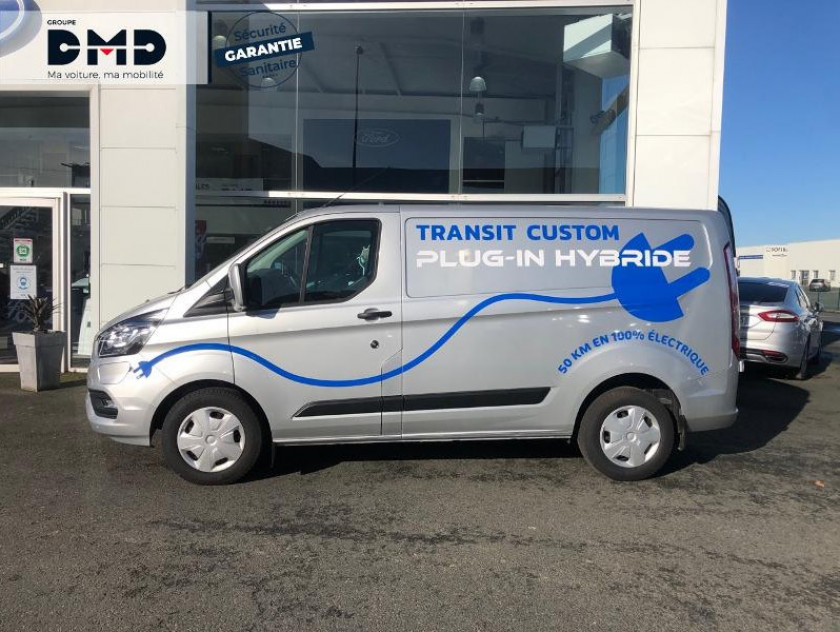 Ford Transit Custom Fg 340 L1h1 1.0 Ecoboost 120 Phev Trend Business - Visuel #2