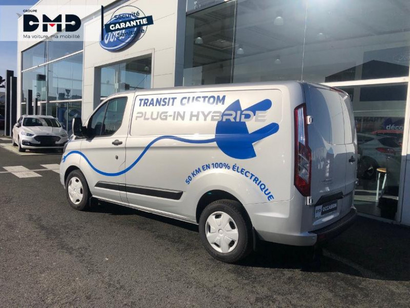Ford Transit Custom Fg 340 L1h1 1.0 Ecoboost 120 Phev Trend Business - Visuel #3