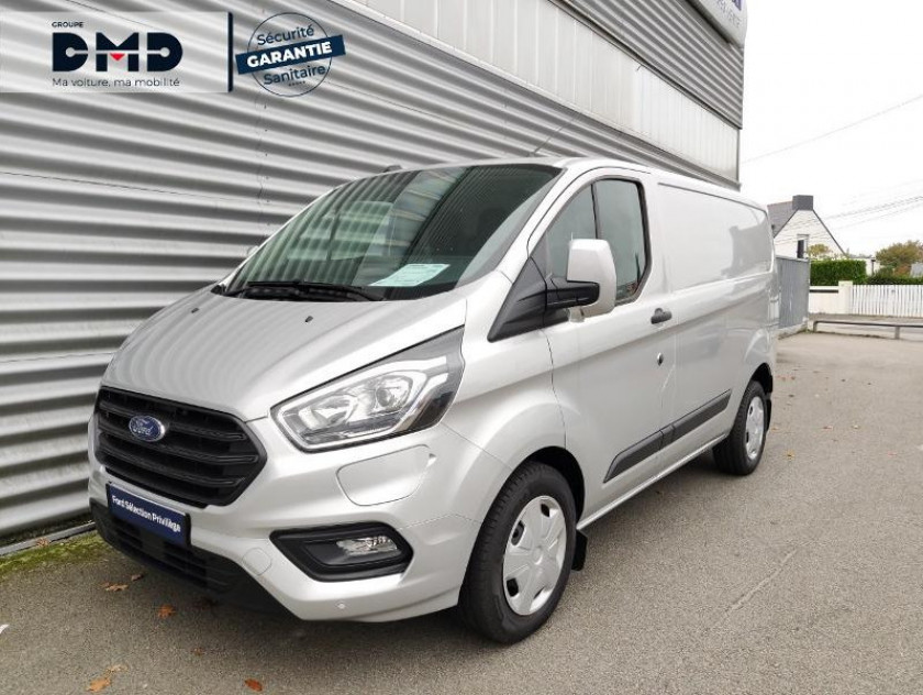 Ford Transit Custom Fg 340 L1h1 1.0 Ecoboost 120 Phev Trend Business - Visuel #1