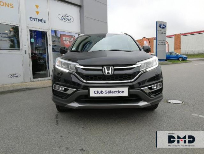 Honda Cr-v 1.6 I-dtec 160ch Exclusive Navi 4wd At - Visuel #4
