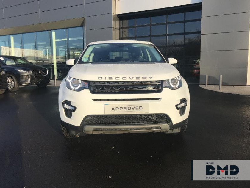 Land Rover Discovery Sport 2.0 Td4 150ch Awd Se Bva Mark Ii - Visuel #4
