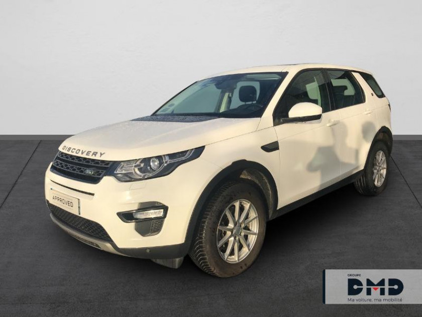 Land-rover Discovery Sport 2.0 Td4 150ch Awd Se Bva Mark Ii - Visuel #1