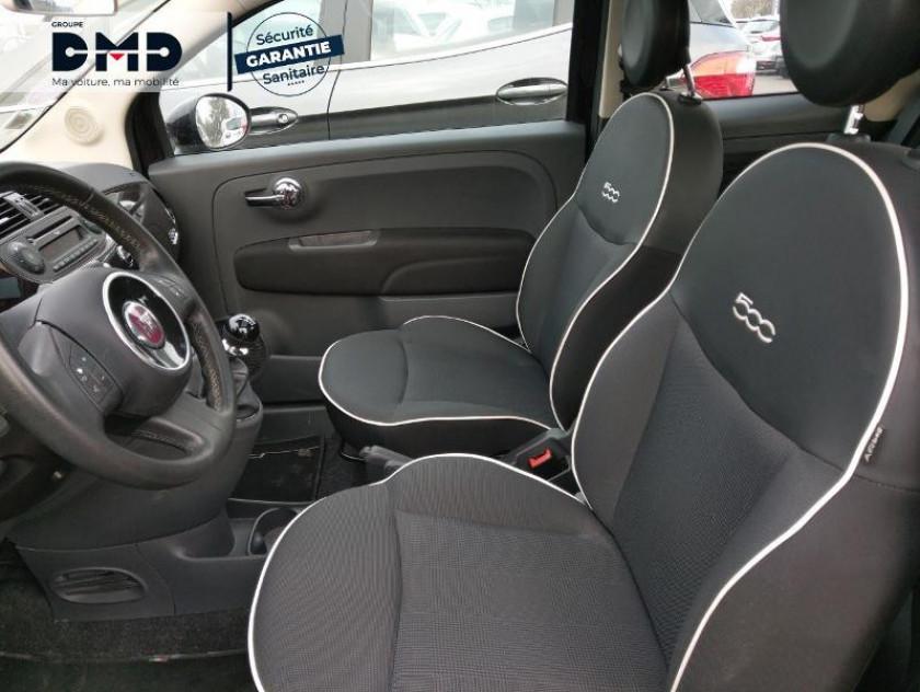 Fiat 500 1.2 8v 69ch Lounge - Visuel #9