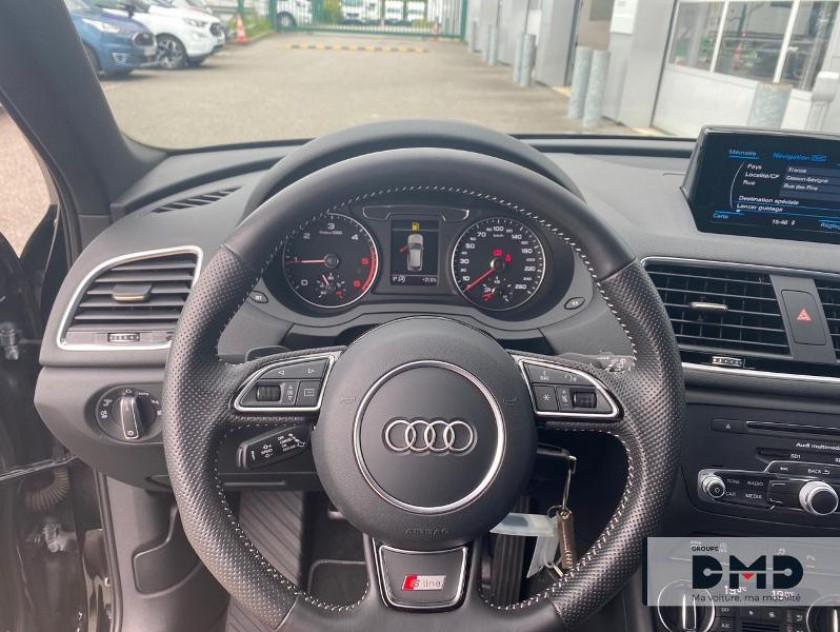 Audi Q3 2.0 Tdi 150ch S Line S Tronic 7 - Visuel #7