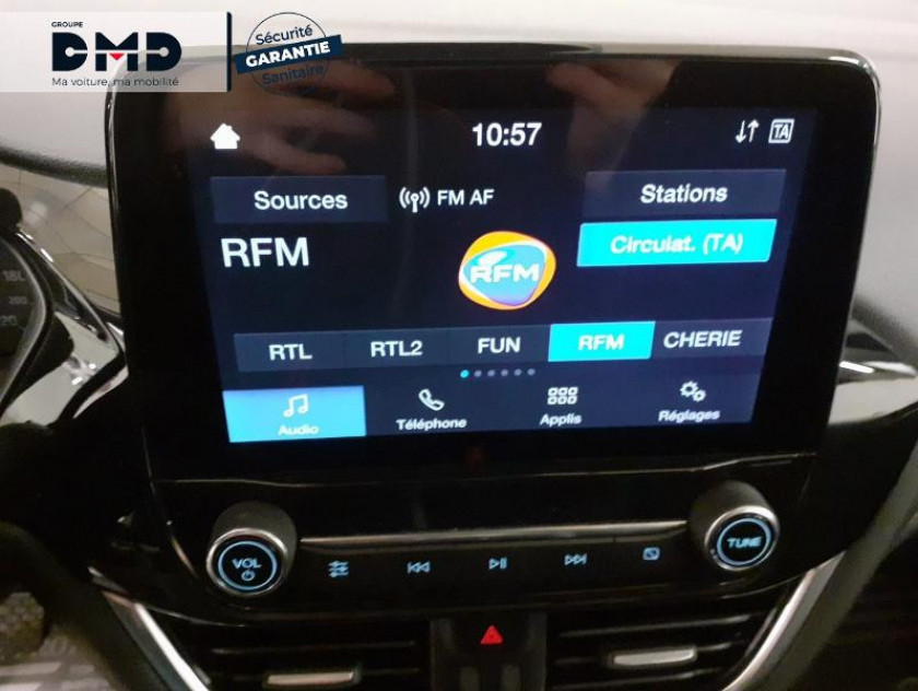 Ford Fiesta 1.0 Ecoboost 95ch Cool & Connect 5p - Visuel #6