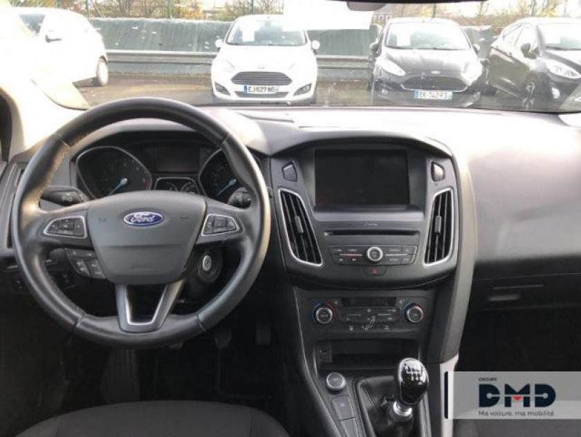 Ford Focus Sw 1.5 Tdci 105ch Econetic Stop&start Business Nav - Visuel #5