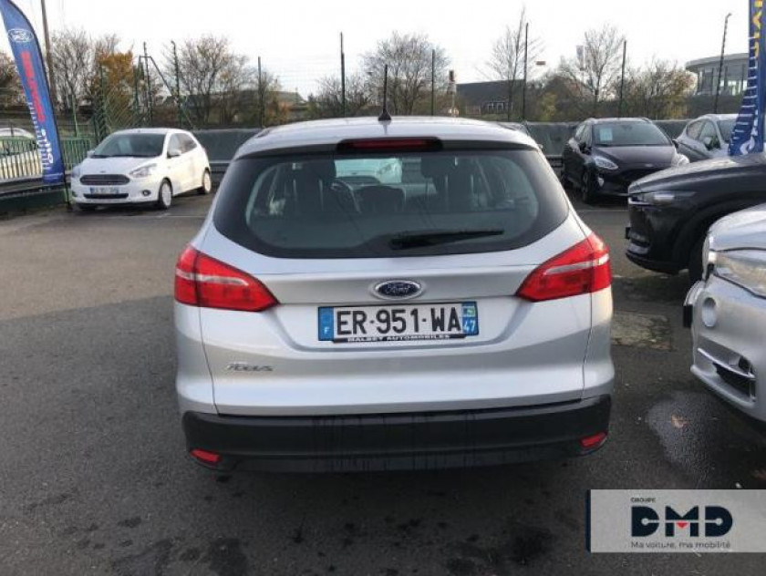Ford Focus Sw 1.5 Tdci 105ch Econetic Stop&start Business Nav - Visuel #11