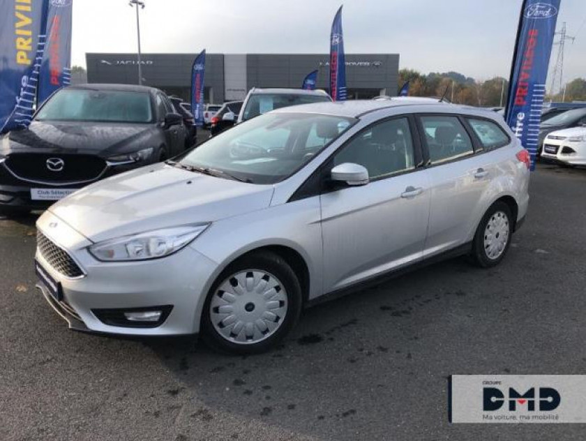 Ford Focus Sw 1.5 Tdci 105ch Econetic Stop&start Business Nav - Visuel #14