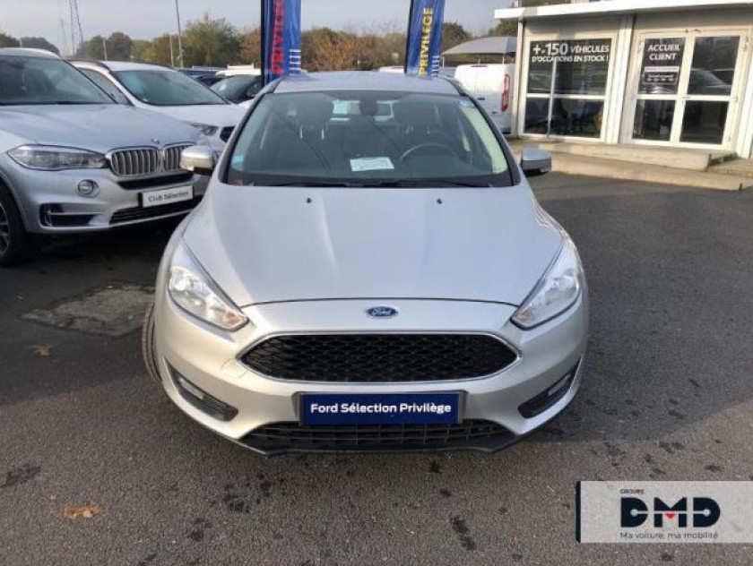 Ford Focus Sw 1.5 Tdci 105ch Econetic Stop&start Business Nav - Visuel #4