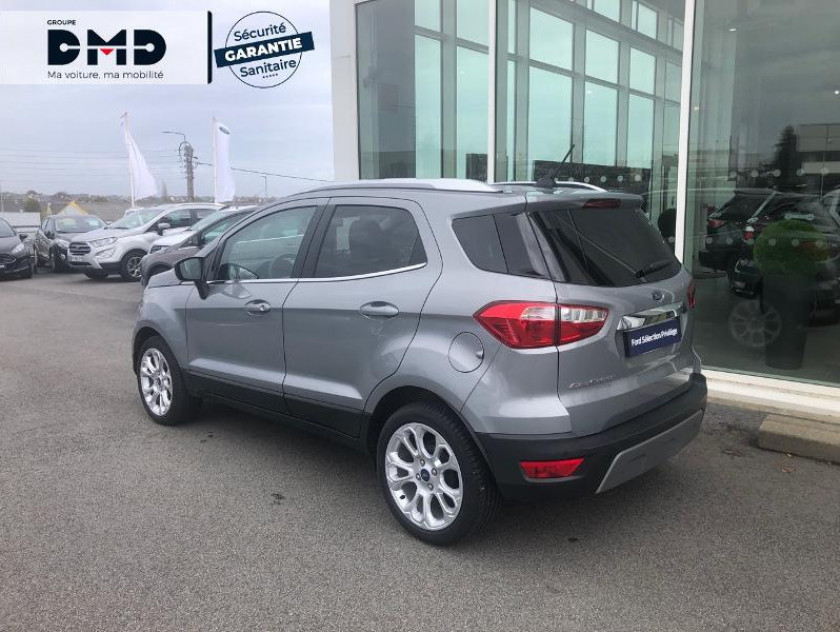 Ford Ecosport 1.5 Ecoblue 100ch Titanium Euro6.2 - Visuel #3