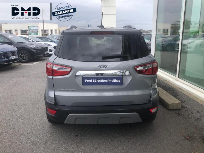 Ford Ecosport 1.5 Ecoblue 100ch Titanium Euro6.2 - Visuel #11