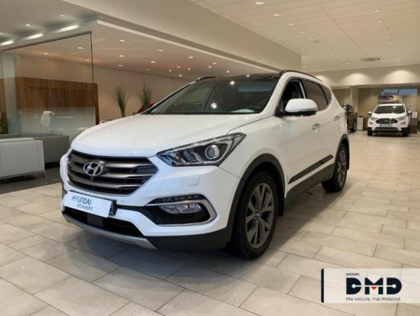 Hyundai Santa Fe 4x4 2.2 Crdi 200ch 4wd Executive Bva - Visuel #17