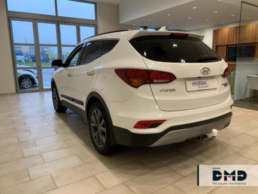Hyundai Santa Fe 4x4 2.2 Crdi 200ch 4wd Executive Bva - Visuel #3