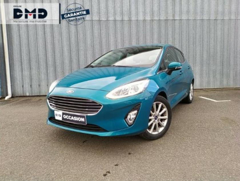 Ford Fiesta 1.0 Ecoboost 100ch Stop&start Titanium 5p Euro6.2 - Visuel #19