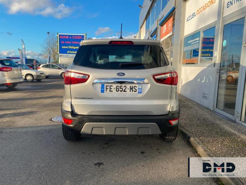 Ford Ecosport 1.0 Ecoboost 100ch Titanium Euro6.2 - Visuel #10