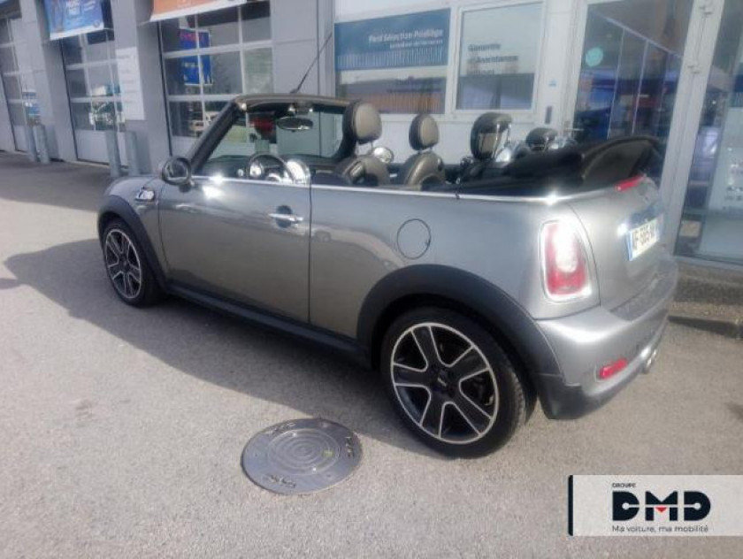 Mini Cabrio Cooper S 175ch Pack Hot Spice - Visuel #3
