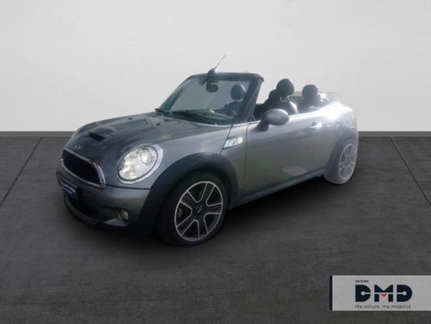 Mini Cabrio Cooper S 175ch Pack Hot Spice - Visuel #1