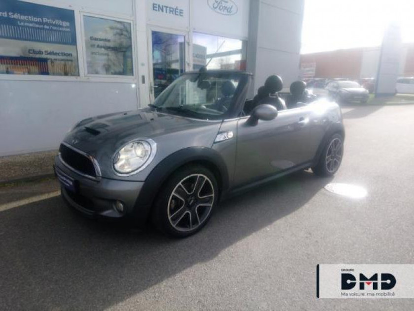 Mini Cabrio Cooper S 175ch Pack Hot Spice - Visuel #17