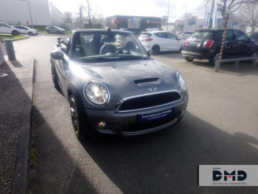 Mini Cabrio Cooper S 175ch Pack Hot Spice - Visuel #4