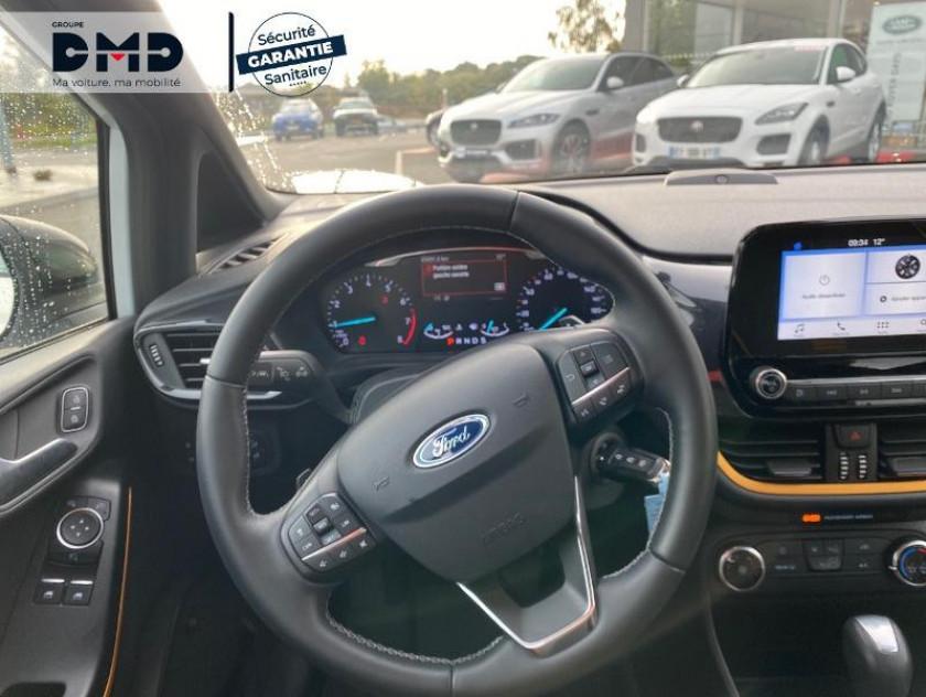 Ford Fiesta Active 1.0 Ecoboost 100ch S&s Pack Bva Euro6.1 - Visuel #7