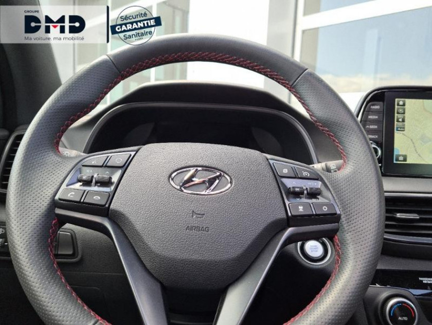 Hyundai Tucson 1.6 Crdi 136ch Hybrid 48v N Line Executive Dct-7 Euro6d-evap - Visuel #7