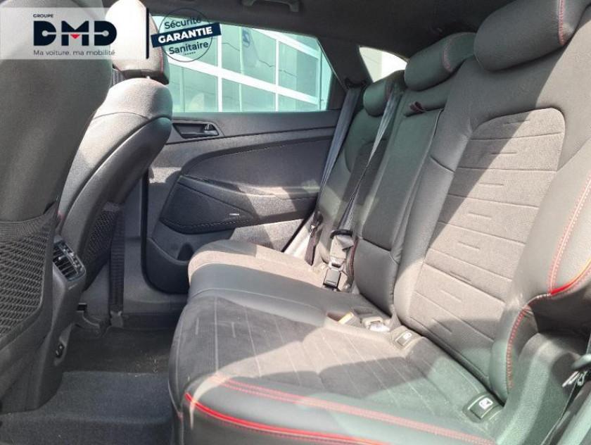 Hyundai Tucson 1.6 Crdi 136ch Hybrid 48v N Line Executive Dct-7 Euro6d-evap - Visuel #10