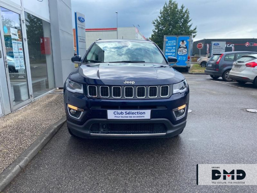 Jeep Compass 1.4 Multiair Ii 140ch Limited 4x2 - Visuel #4