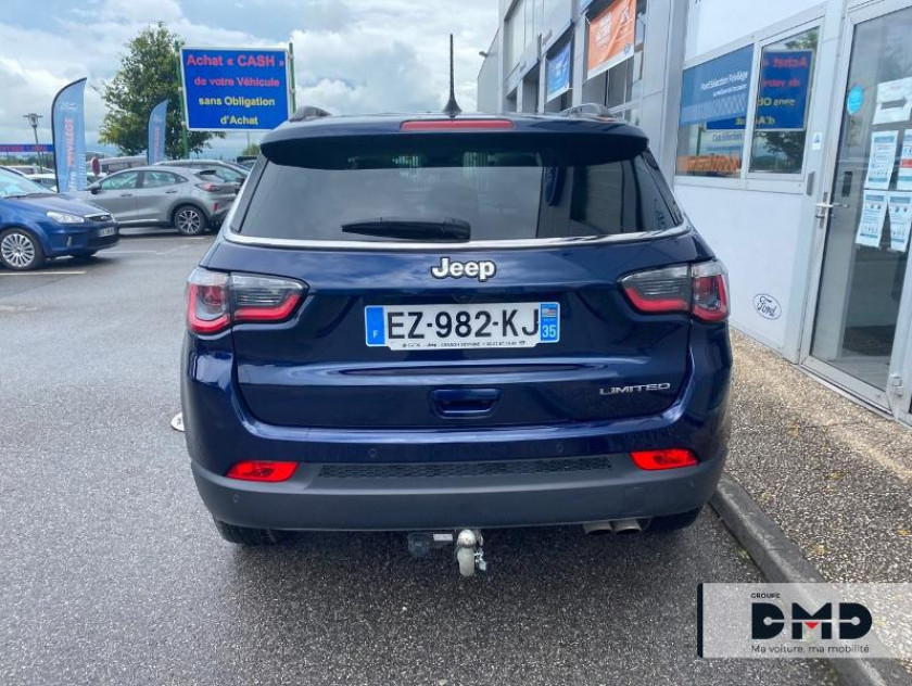 Jeep Compass 1.4 Multiair Ii 140ch Limited 4x2 - Visuel #11