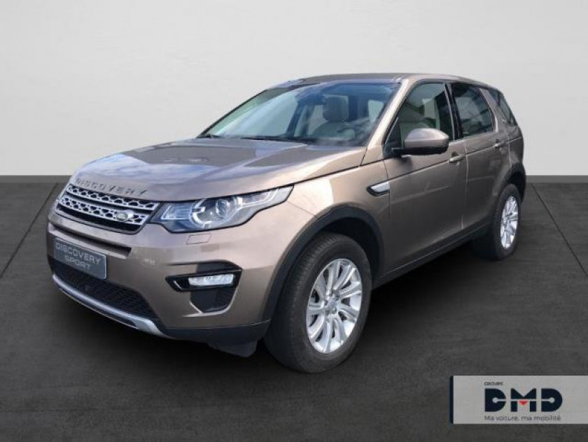 Land-rover Discovery Sport 2.0 Td4 180ch Awd Hse Bva Mark Ii - Visuel #1