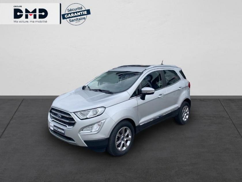Ford Ecosport 1.0 Ecoboost 100ch Titanium Business Euro6.2 - Visuel #1