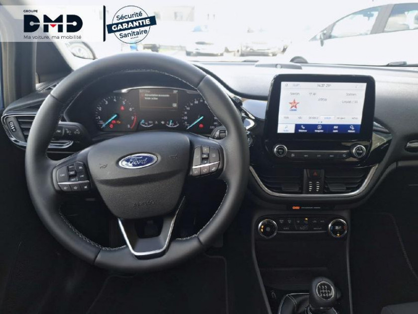 Ford Fiesta 1.0 Ecoboost 125ch Mhev Titanium 5p - Visuel #5