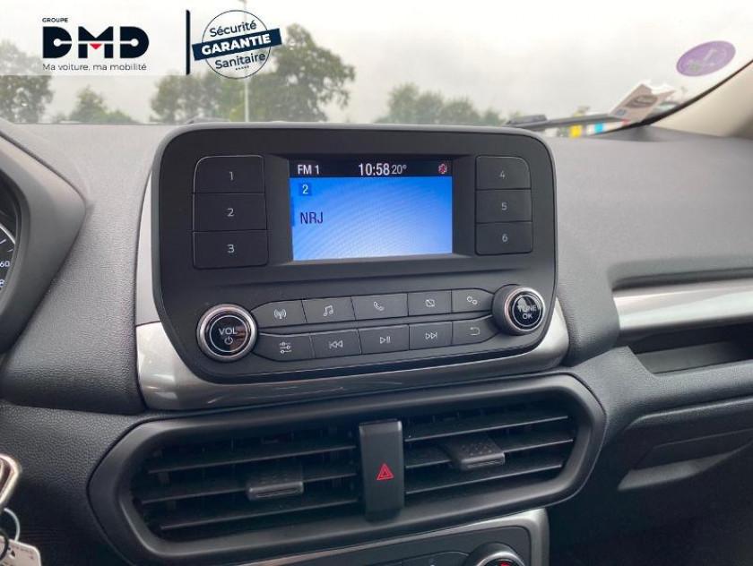 Ford Ecosport 1.0 Ecoboost 100ch Trend Euro6.2 - Visuel #6