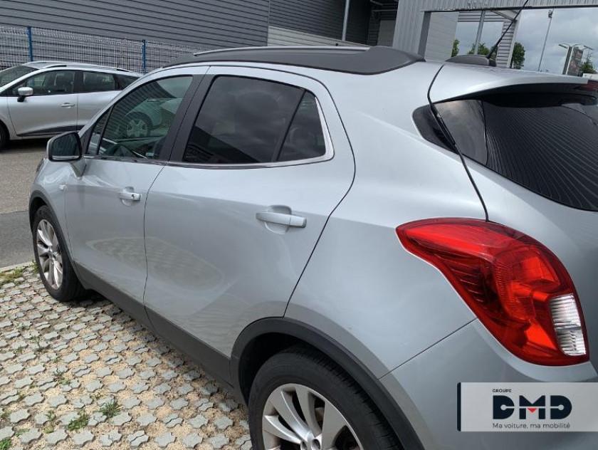 Opel Mokka X 1.4 Turbo 140ch Black Edition 4x2 - Visuel #3