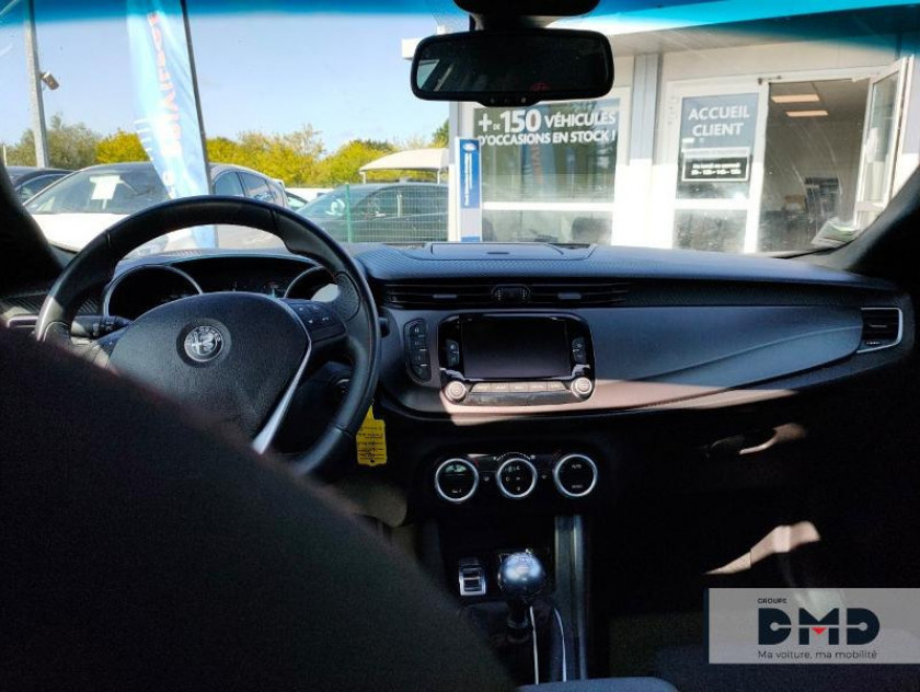 Alfa Romeo Giulietta 1.6 Jtdm 120ch Sport Edition Stop&start My19 - Visuel #5