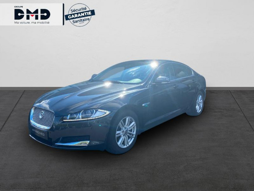 Jaguar Xf V6 3.0 D 240ch Luxe - Visuel #1