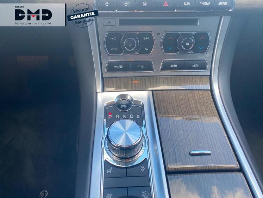 Jaguar Xf V6 3.0 D 240ch Luxe - Visuel #8