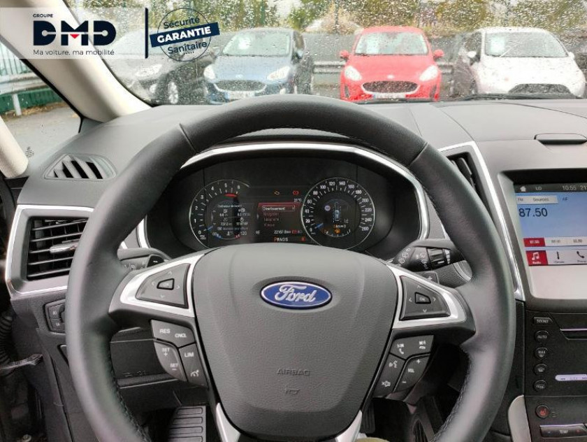 Ford S-max 2.0 Ecoblue 150ch Titanium Bva8 Euro6.2 - Visuel #7