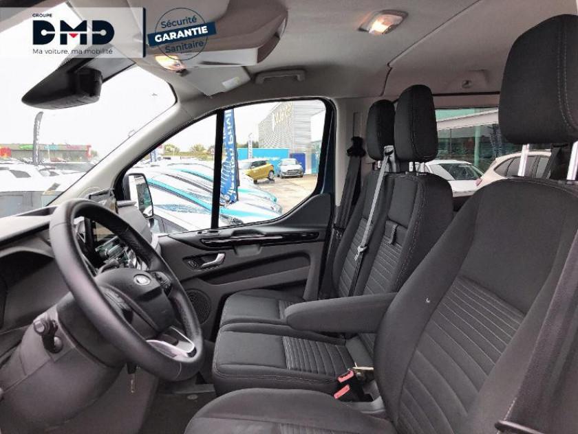 Ford Transit Custom Fg 300 L1h1 2.0 Tdci 130 Cabine Approfondie Limited - Visuel #9