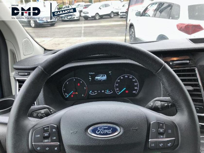 Ford Transit Custom Fg 300 L1h1 2.0 Tdci 130 Cabine Approfondie Limited - Visuel #7