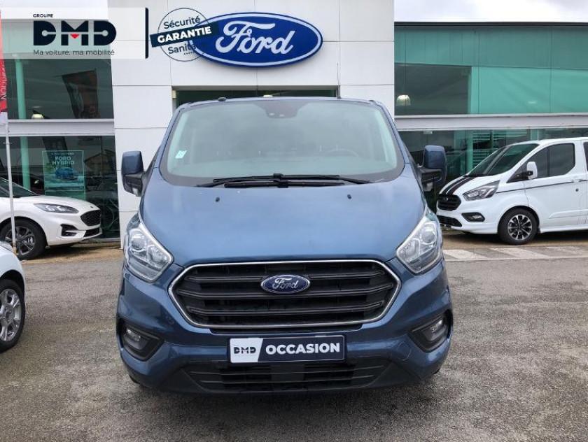 Ford Transit Custom Fg 300 L1h1 2.0 Tdci 130 Cabine Approfondie Limited - Visuel #4