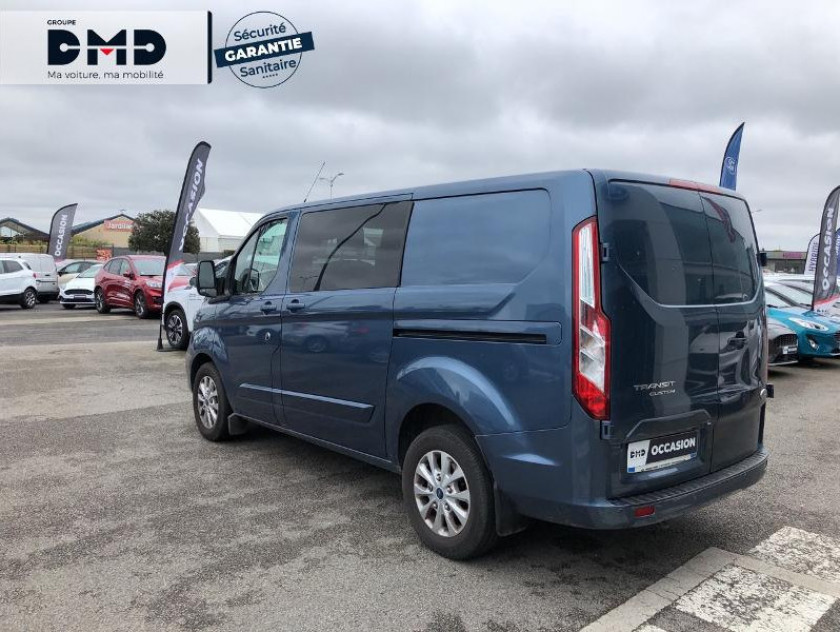 Ford Transit Custom Fg 300 L1h1 2.0 Tdci 130 Cabine Approfondie Limited - Visuel #3