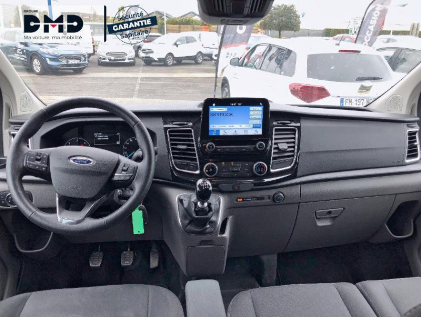 Ford Transit Custom Fg 300 L1h1 2.0 Tdci 130 Cabine Approfondie Limited - Visuel #5