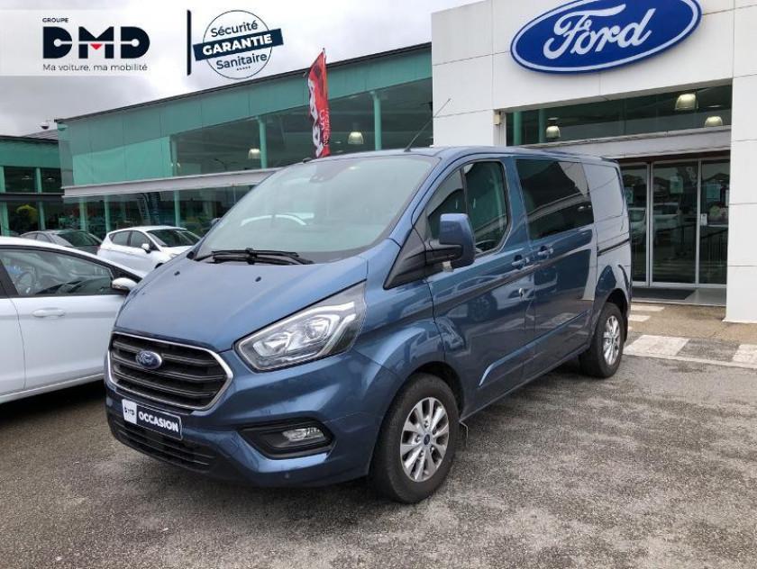 Ford Transit Custom Fg 300 L1h1 2.0 Tdci 130 Cabine Approfondie Limited - Visuel #14